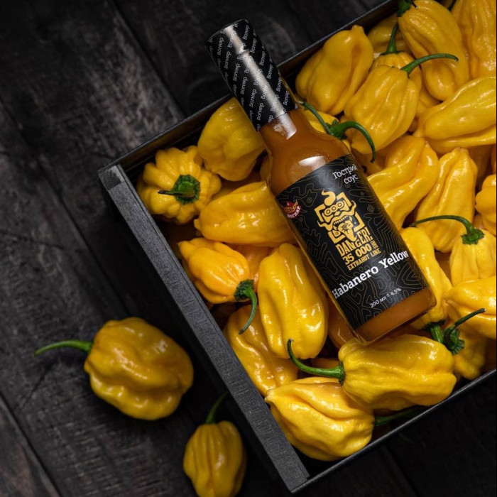 Habanero Yellow соус