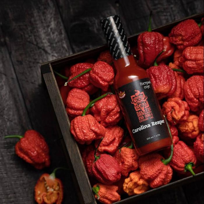 Carolina Reaper Red соус